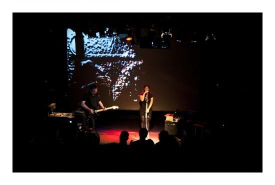 Julian Knowles and Donna Hewitt. Brisbane Festival