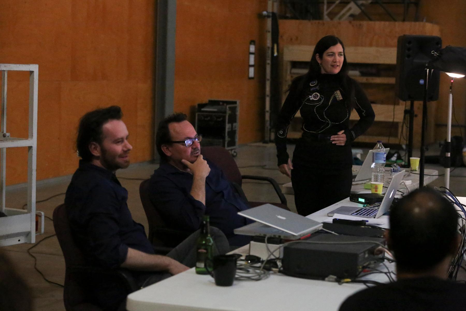 Artis talk Q&A. Tim, Julian and Donna